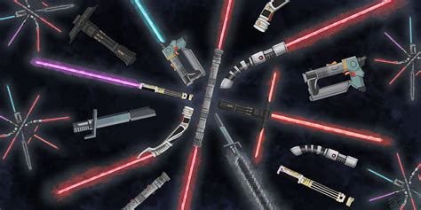 The 7 Most Memorable Lightsabers In Wars