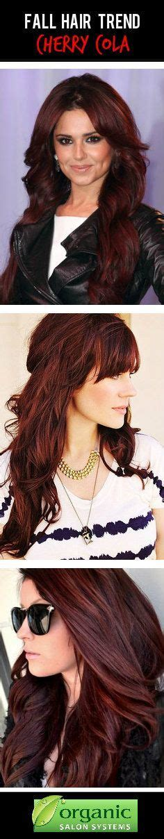 cherry cola red hair color cherry cola hair colors and fashion