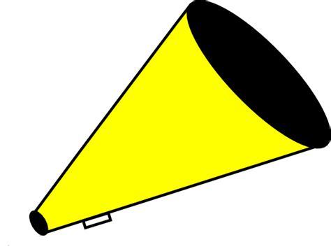 megaphone clipart megaphone yellow clip at clker vector clip