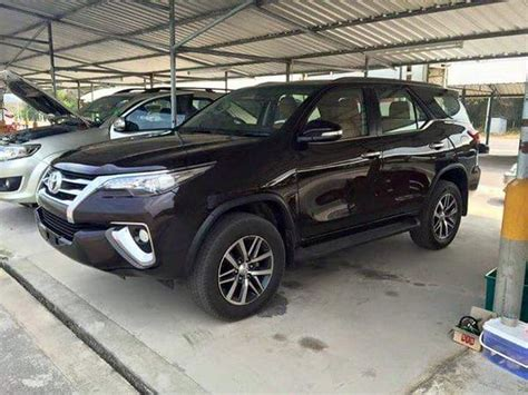 toyota new new 2016 toyota fortuner suv this is it carscoops