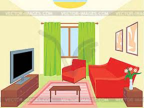 living room royalty free vector image
