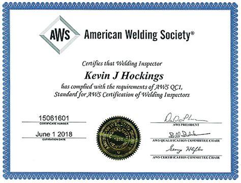 aws certified welding inspector laboratory testing inc