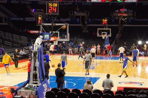 section vi basketball staples center section 106 clippers lakers