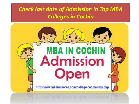 Admission In Mba Colleges Without Entrance by Ppt Choose Top Mba Colleges In Cochin According To Your