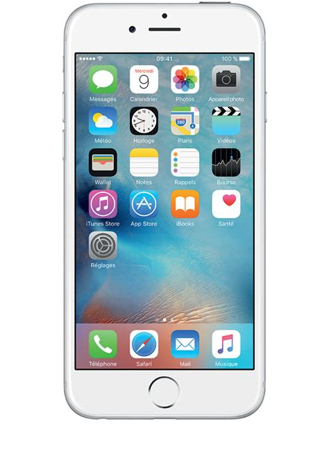 d iphone 6 apple iphone 6 argent 16go avis prix avec forfait caract 233 ristiques