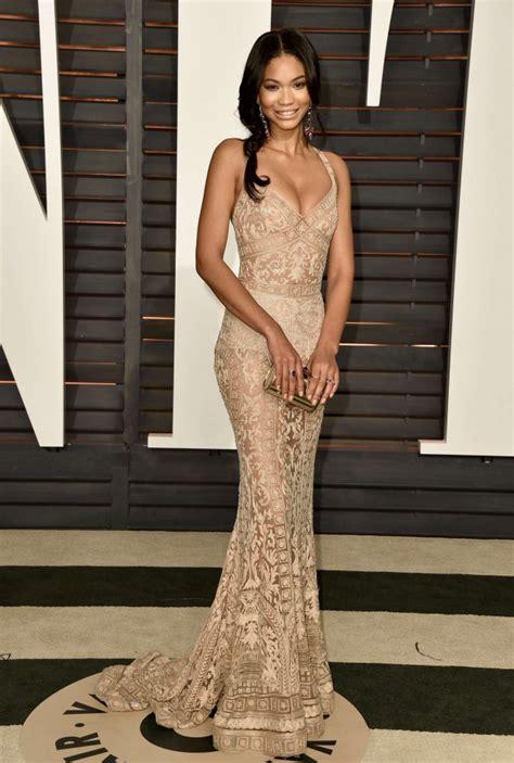 Where Was The Vanity Fair Oscar 2015 Held Chanel Iman 2015 Vanity Fair Oscar 01 Gotceleb