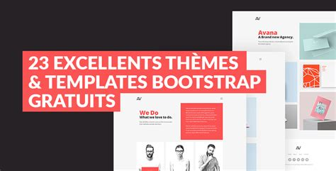 templates bootstrap image 23 excellents th 232 mes templates bootstrap gratuits