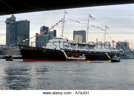 thames river voyages britannia hospital stock photo royalty free image