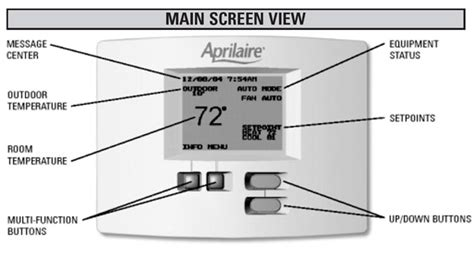 aprilaire thermostat wiring diagram 35 wiring diagram