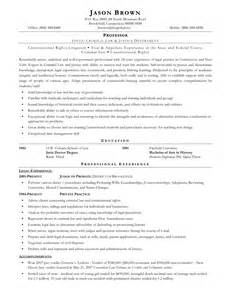 Sle Resume Brown Immigration Paralegal Resume Template 28 Images Doc