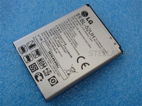 Lg L70 D320 Dual D325 Bl 52uh 2100mah Battery Baterai Batre 904056 lg h815 g4 battery li ion bl 51yf 3000mah
