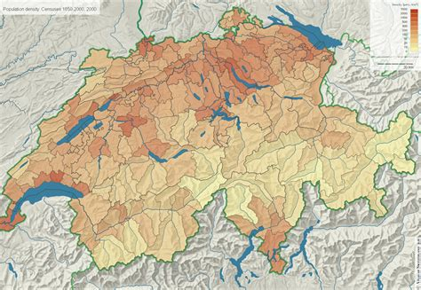 population density map of switzerland 1000 images about historical and contemporary maps of
