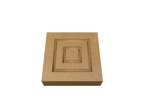Block Door by Oak Plinth Blocks Planed Wood Packs Door Frames Uk Diy