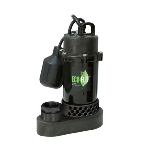 wayne 1 3 hp cast iron submersible sump with vertical