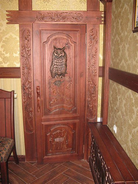 owl door  amazing home design garden