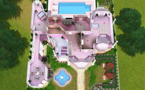 Barbie Dream House Floor Plan | barbie dream house floor plan house interior