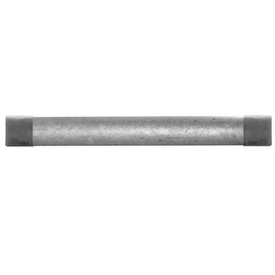 home depot pipe ldr industries 1 1 2 in x 60 in galvanized steel
