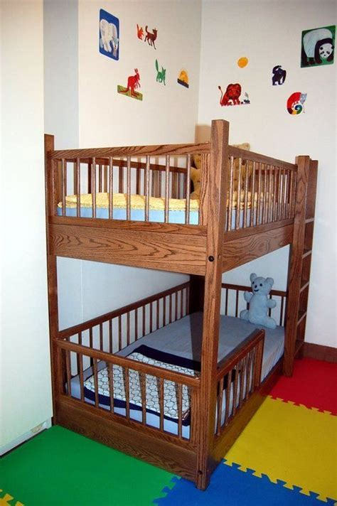 Crib Loft Bed Toddler Bunk Bed Crib Mattress Woodworking Projects Plans