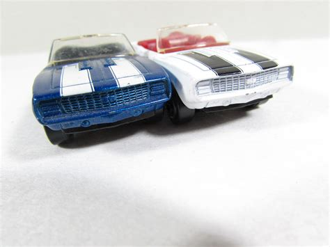 matchbox chevy camaro 69 chevy camaro ss convertible vintage matchbox cars blue