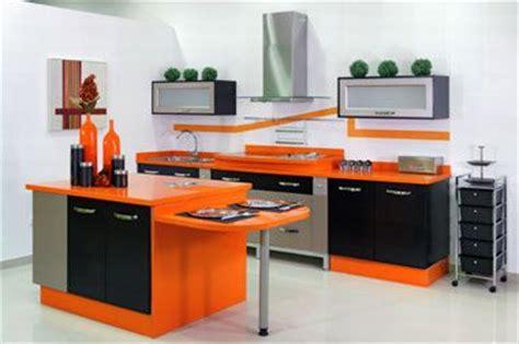 como decorar una cocina negra decoracion de cocina negra y naranja