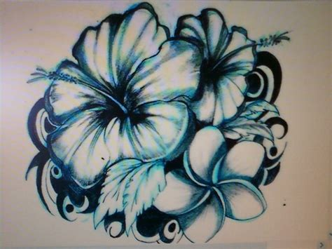 tropical tattoo designs best 25 tropical flower tattoos ideas on