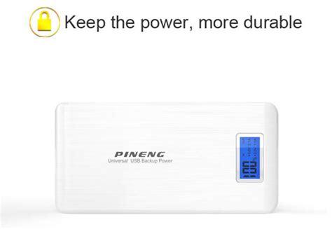 Power Bank 15000 Mah 004 Silver pineng powerbank pn 929 15000mah silver