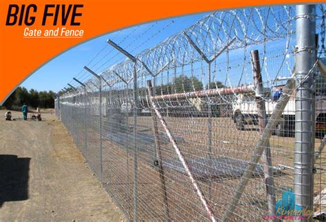 big fence big five gate and fence kimberley city portal