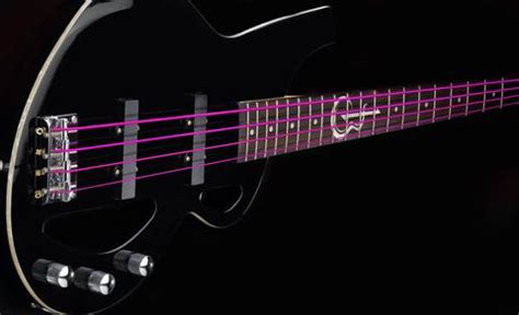 colored bass strings coloured guitar strings fretfunk