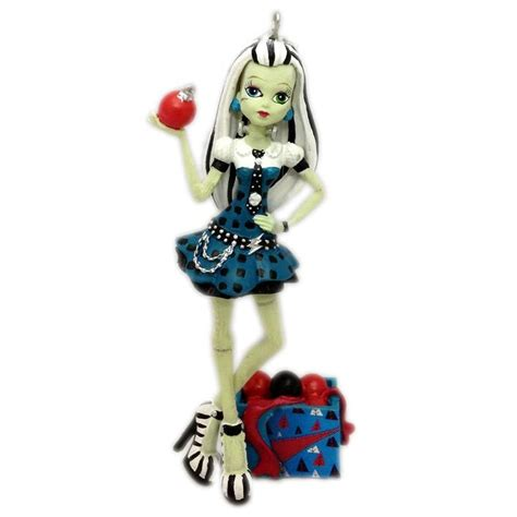 monster high frankie steiin christmas ornament new