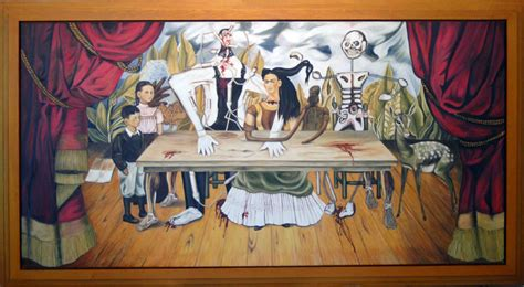 The Wounded Table frida kahlo s italic the wounded table