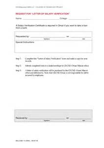 Certification Letter For Bank Salary Certificate Letter For Bank Loan