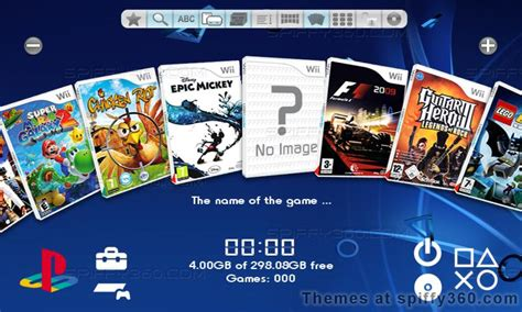 new themes coming to ps4 wii theme depository themes for usb loader gx wiiflow