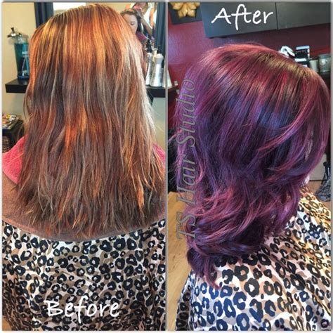 so color 5vr by ts hair studio loved this transformation formula 5vr
