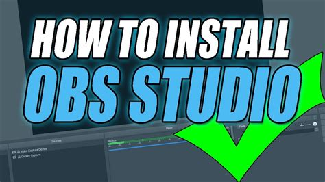 obs tutorial windows 10 how to download and install obs studio on windows 10 youtube
