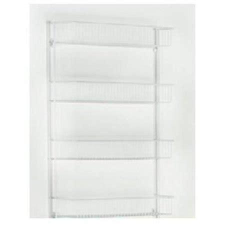 closetmaid 803300 18 inch white wall rack 4 shelf