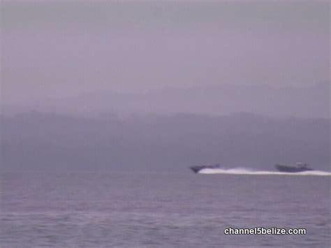 cadenas belize was guatemalan navy really tailing or escorting bdf to