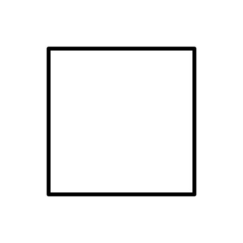 Simple Square by Original File Svg File Nominally 500 215 500 Pixels