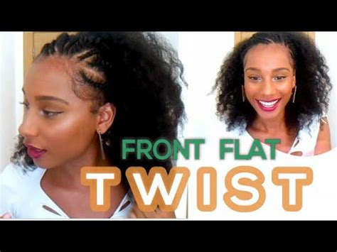 Front Twist Hairstyle by Front Flat Twist Hairstyle Hair