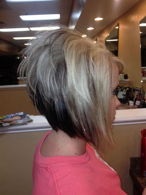 high stacked layer bob short bob stacked high in the back hairstylegalleries com