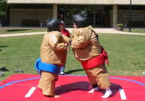 Wrestling suits inflatable water slides sumo suit rentals kids