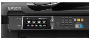 Printer Epson Workforce Wf 7611 epson workforce wf 7611 a3 wi fi duplex all in one inkjet