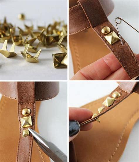 decorar ropa con tachas poner tachuelas en zapatos ropa diy