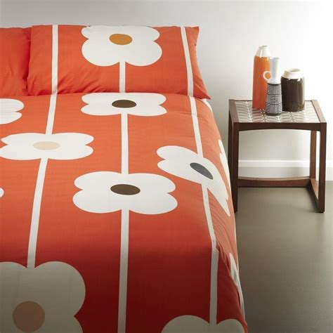 Matching Abacus Wallet Set By Orla Kiely by Orla Kiely Home Abacus King Duvet Set Tomato