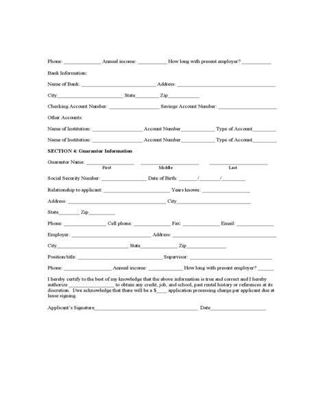 york rental application