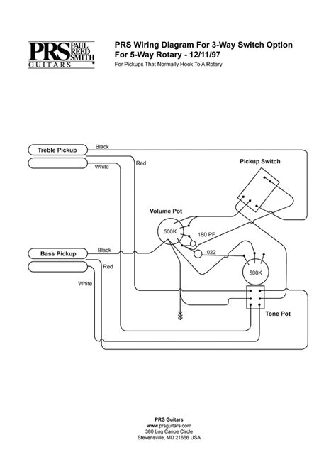 prs wiring diagram efcaviation