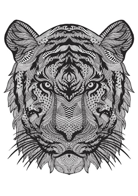 tiger mandala coloring pages the 15 trends in colouring this year