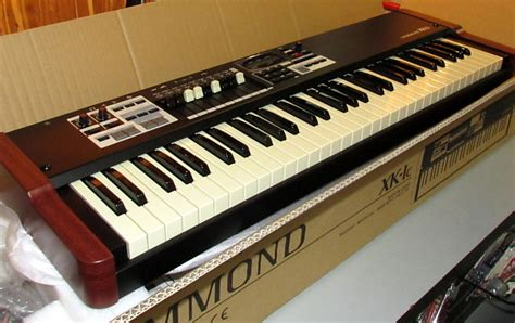 Keyboard Hammond hammond xk 1c 61 key portable drawbar keyboard organ reverb