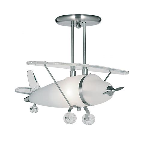 Airplane Light Fixture Aeroplane Novelty Pendant Light