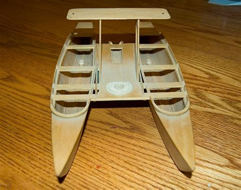 diy wooden pontoons homemade foam boat thread birdwing double dory
