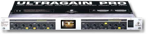 Ultragain Pro Mic2200 behringer ultragain pro mic2200 pr 201 lis micros transistor woodbrass